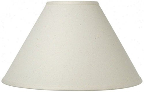 Upgradelights Chimney Style Oil Lamp Shade 10 Inch Eggshell Linen (4x10x7) - llightsdaddy - Upgradelights - Lamp Shades