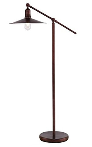 Southern Enterprises Vikram Floor Lamp - llightsdaddy - Southern Enterprises - Lamp Shades