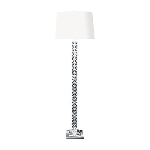 Artistic Lighting Dimond Lighting Diamond Cut Crystal Floor Lamp - llightsdaddy - Artistic Lighting - Lamp Shades