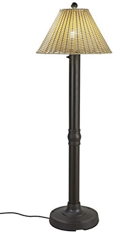 "Patio Living Concepts 19207 Tahiti Outdoor Floor Lamp With 3"" Tubular Body, 60"" - llightsdaddy - Patio Living Concepts - Floor Lamps"