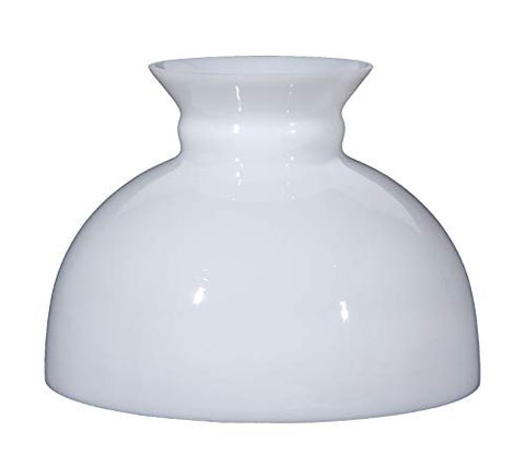 "B&P Lamp 9 7/8"" Shade, STU, Opal - llightsdaddy - B&P Lamp - Fixture Replacement Globes & Shades"