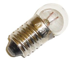 Eiko 04130 - SR-BOOKLITE (413) 4.8V .3A Miniature Automotive Light Bulb - llightsdaddy - Eiko - Lamps