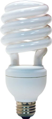 GE Lighting 77123 Energy Smart CFL 3-way 13/19/26-Watt (100-watt replacement) 600/1150/1750-Lumen T3 Spiral Light Bulb with Medium Base, 1-Pack - llightsdaddy - GE Lighting - Compact Fluorescent Bulbs