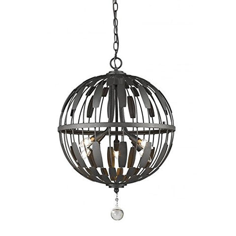 5 Light Pendant 430B18-BRZ - llightsdaddy - Z-Lite - Pendant Lights