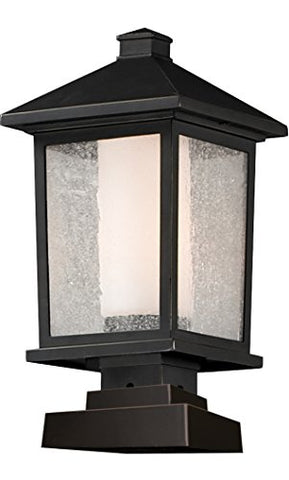 Outdoor Post Light 538PHB-SQPM-ORB
