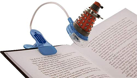 DOCTOR WHO CLIP ON BOOK LIGHT - llightsdaddy - Doctor Who - Book Lights