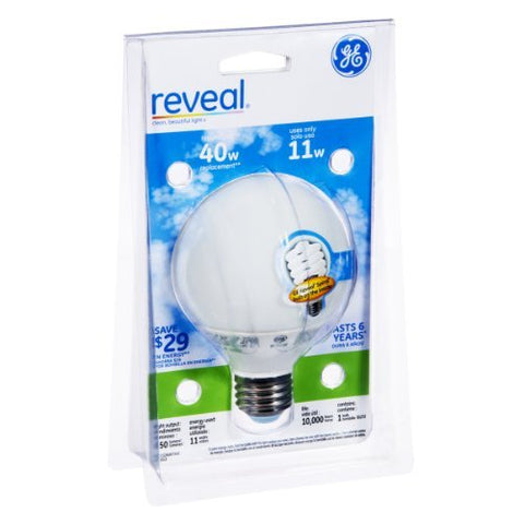 GE Reveal 11 Watts Light Bulb - llightsdaddy - GE - Incandescent Bulbs