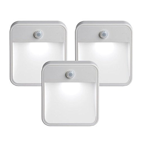 Mr. Beams MB 723 MB723 Battery-Powered Motion-Sensing LED Stick-Anywhere Nightlight, 3-Pack - llightsdaddy - Mr Beams - Night Lights