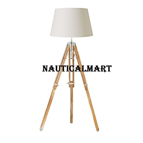 MODERN DESIGNER LIVING ROOM TRIPOD FLOOR LAMP BY NAUTICALMART