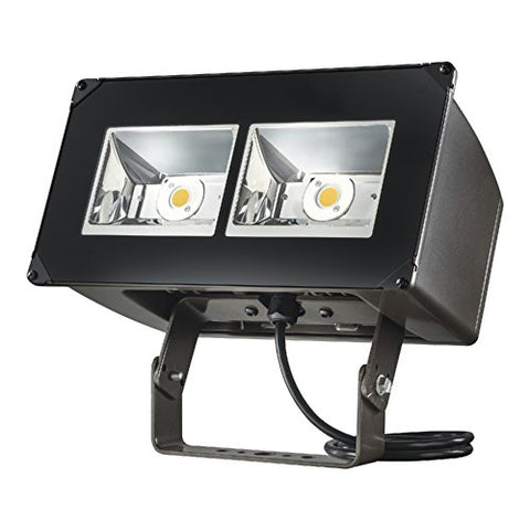 Lumark NFFLD-C40-T Night Falcon 128W Carbon Outdoor Integrated LED Area Light with Trunnion Mounting, Bronze