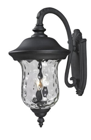 Outdoor Wall Light 534B-BK
