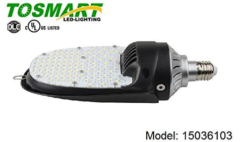 LED 180 Degree Retro Light Multiple Wattages 36W, 54W, 75W, 115W Parking Lot Area Wall Pack (36)