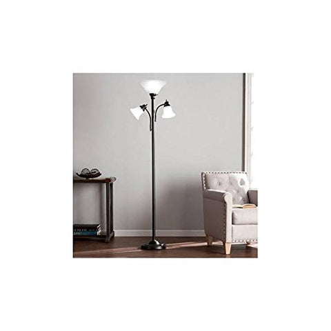 Southern Enterprises Orson Floor Lamp - llightsdaddy - Southern Enterprises - Lamp Shades