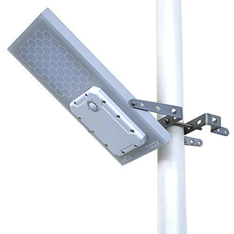 Solar Street Light // HEX 780X Solar Ambience Street Light (Warm White LED) // 3-Level Power Setting // Fits Max Pole Diameter 2.5""
