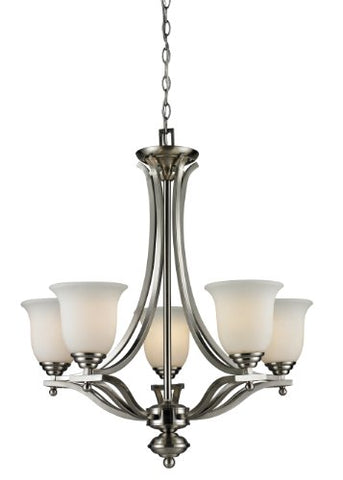 5 Light Chandelier 704-5-BN