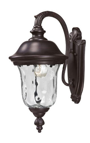 Outdoor Wall Light 534S-RBRZ - llightsdaddy - Z-Lite - Outdoor Porch & Patio Lights
