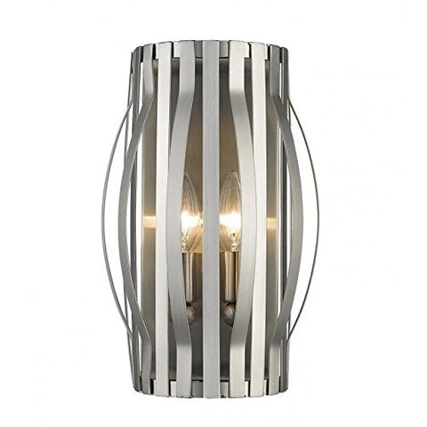 2 Light Wall Sconce 436-2S-BN