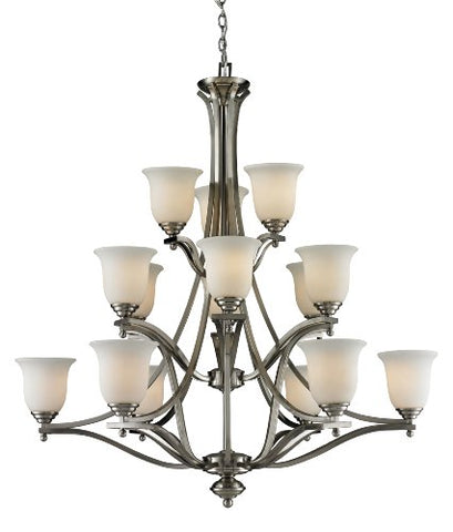 15 Light Chandelier 704-15-BN