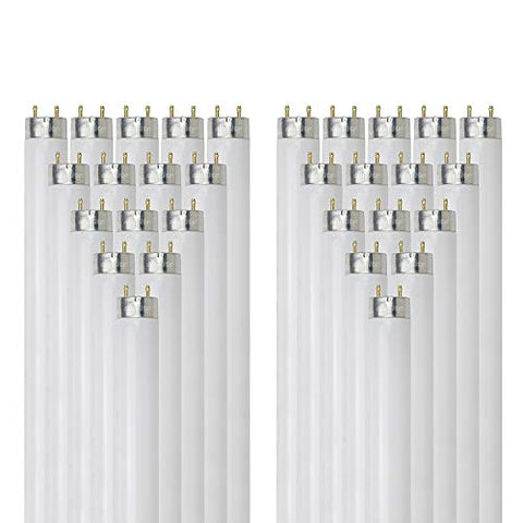 Sunlite F58T8/SP835 58-watt T8 Linear Fluorescent Light Bulb with Bi Pin Base, 3500K, 30-Pack