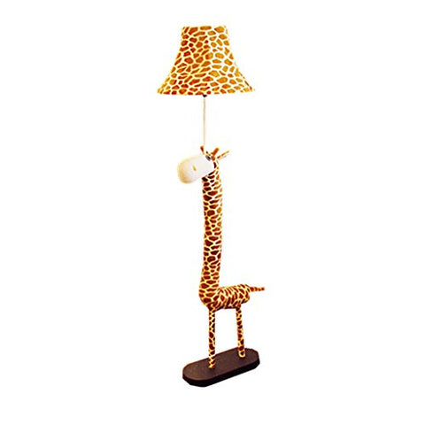 Children's Room Floor Lamp Soft Lighting Animal Model Cartilage Iron Frame+Environmental Protection Cloth Art Bedroom Bedside Stereo Lamp 125 Cm Vertical Floor Standing Lamp - llightsdaddy - Tong Heng Sheng Firm - Lamp Shades