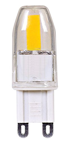 Satco S9546 G9 Bulb in Light Finish, 1.88 inches, Clear