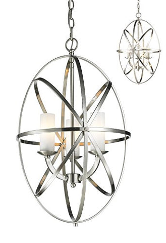 3 Light Pendant 6027-3S-BN