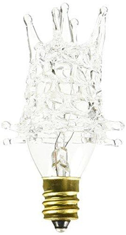 Westinghouse Lighting 03747-7STAR - 7 Watt Star DecorLite Decorative Light Bulb, Clear - llightsdaddy - Westinghouse - Incandescent Bulbs
