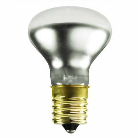 Satco S3215 120V Intermediate Base 40-Watt R14 Light Bulb, Clear - llightsdaddy - Satco - LED Bulb