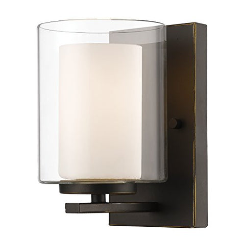 1 Light Wall Sconce 426-1S-OB - llightsdaddy - Z-Lite - Wall Sconces and Lamps