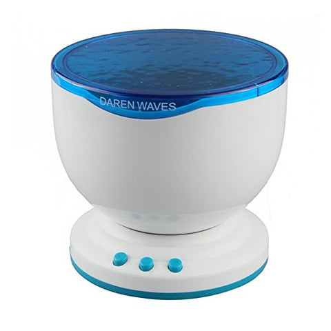 Ocean Wave Night Light Projector and Music Player - llightsdaddy - Huixinda - Night Lights