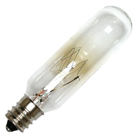 Eiko 25T6C-120V 120V 25W T-6 Candelabra Base Halogen Bulbs - llightsdaddy - Eiko - Halogen Bulbs