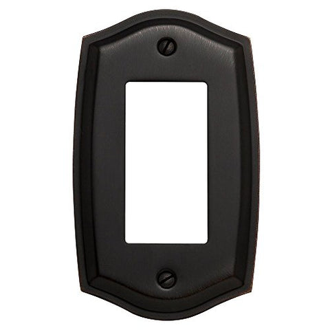 Baldwin 4785.112.CD Colonial Design Single GFCI Switch Plate, Venetian Bronze - llightsdaddy - Baldwin - Wall Plates
