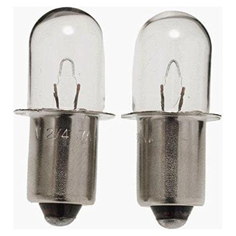 Porter Cable PC1800L/PC18FL Light Replacement (2 Pack) OEM 18 Volt KRYPTON BULB # 90534275-2pk  PORTER-CABLE Krypton & Xenon Bulbs llightsdaddy.myshopify.com lightsdaddy