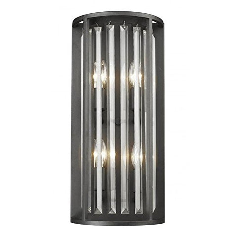 4 Light Wall Sconce 439-4S-BRZ - llightsdaddy - Z-Lite - Wall Sconces and Lamps