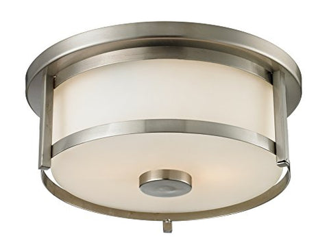 2 Light Flush Mount 412F11 - llightsdaddy - Z-Lite - Flush mounts