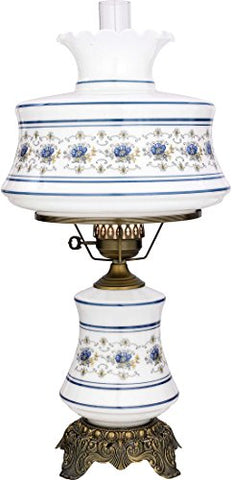 "Quoizel AB703A Abigail Adams Vintage Table Lamp, 2-Light, 157 Watts, Antique Brass (28"" H x 14"" W)"