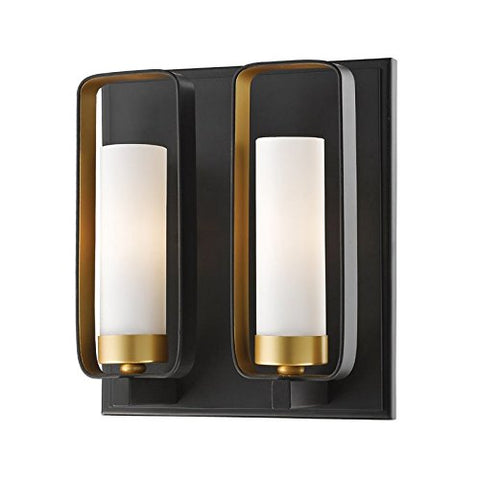 2 Light Wall Sconce 6000-2S-BZGD