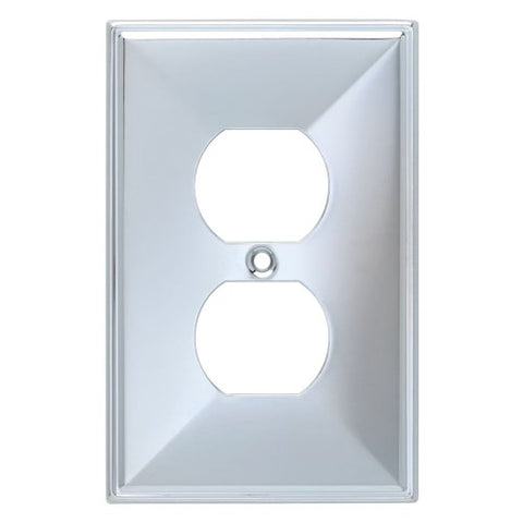 Franklin Brass 135875 Beverly Single Duplex Outlet Wall Plate / Switch Plate / Cover - llightsdaddy - Franklin Brass - Lamp Post Mounts