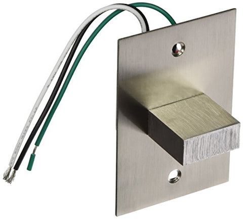 Eurofase 22532 in-Wall Light with 1W LED, Satin Nickel