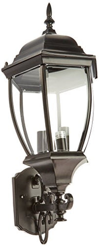 Acclaim 5013BK Wexford Collection 3-Light Wall Mount Outdoor Light Fixture, Matte Black - llightsdaddy - Acclaim - Outdoor Porch & Patio Lights