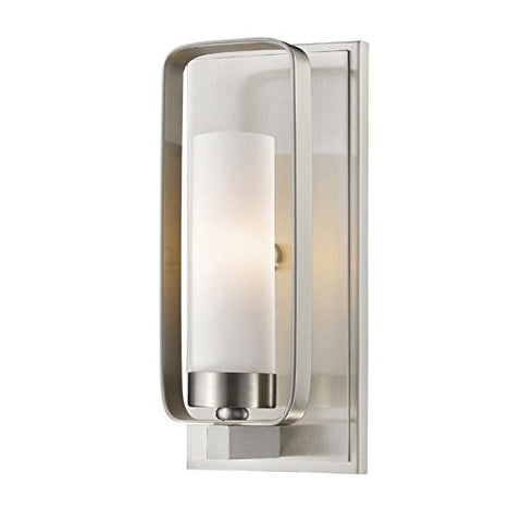 1 Light Wall Sconce 6000-1S-BN - llightsdaddy - Z-Lite - Wall Sconces and Lamps