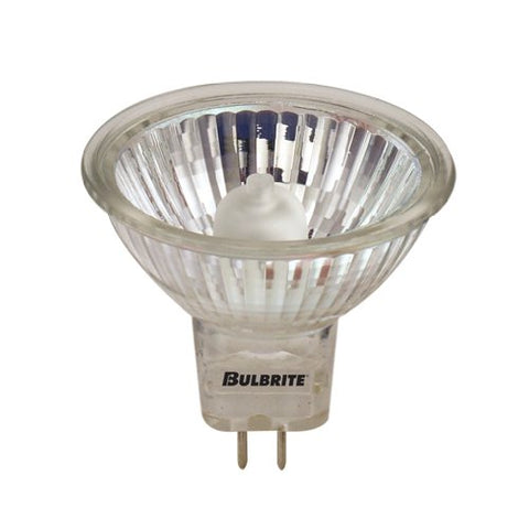 Bulbrite BAB/BLK 20-Watt Dimmable Halogen MR16, GU5.3 Base, Black, 10 Bulbs - llightsdaddy - Bulbrite - Halogen Bulbs