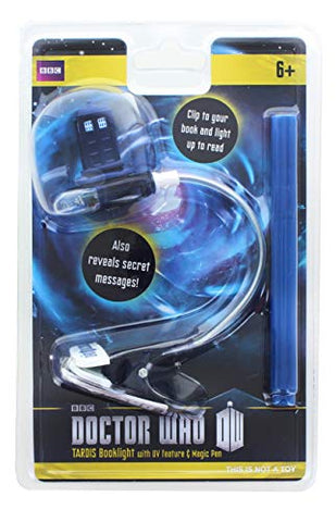 Underground Toys Doctor Who Book Light with UV Pen - llightsdaddy - Underground Toys - Book Lights