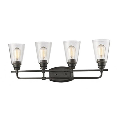 4 Light Vanity Light 428-4V-OB - llightsdaddy - Z-Lite - Vanity Lights