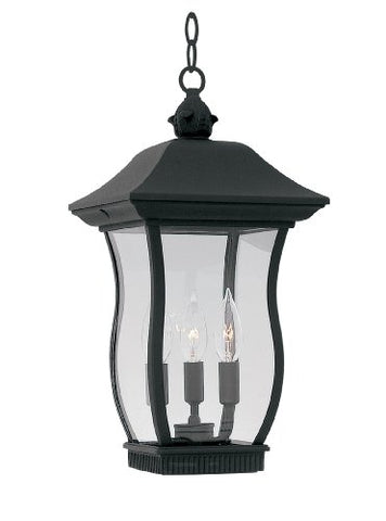 Designers Fountain 2724-BK Autumn Gold Wellton Lantern