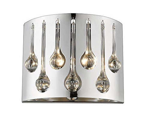 2 Light Wall Sconce - 453R2S-CH