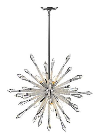 8 Light Chandelier - 4002-8