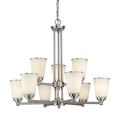 9 Light Chandelier 432-9BN - llightsdaddy - Z-Lite - Chandeliers