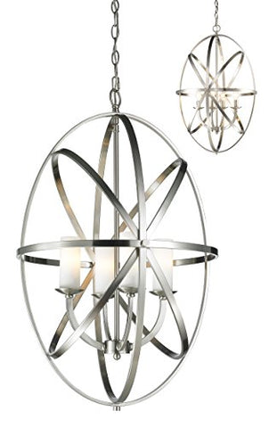 4 Light Pendant 6027-4L-BN