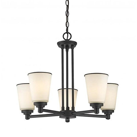 5 Light Chandelier 432-5BRZ